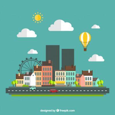 urban-landscape-flat-design_23-2147506625